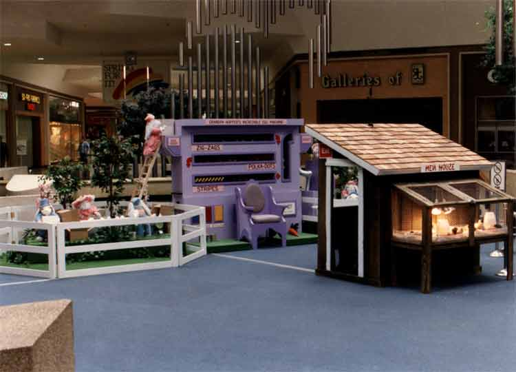 Eastgate Mall Animated Easter Display